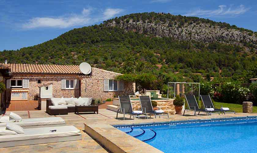 Pool und Finca Mallorca Norden PM 3991