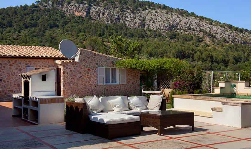 Terrasse Finca Mallorca Norden PM 3991