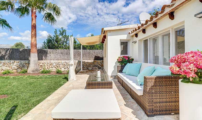 Terrasse Finca Mallorca Pollensa PM 3991
