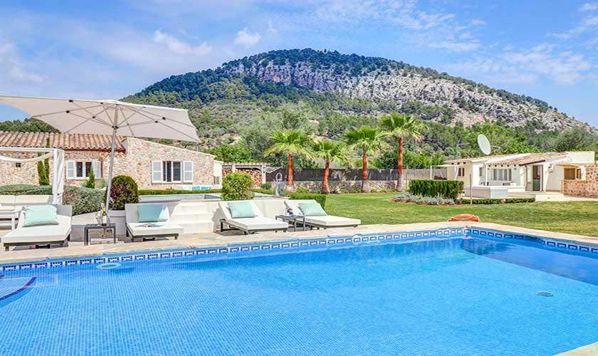 Pool und Finca Mallorca Pollensa PM 3991