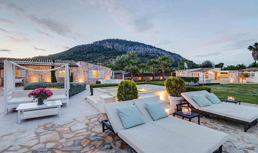 Abend und Loungemöbel Finca Mallorca Pollensa PM 3991