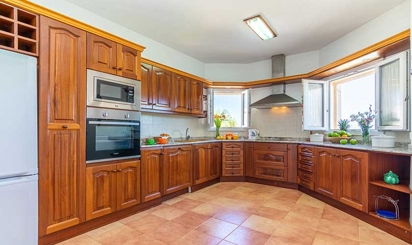 Küche Ferienhaus Mallorca PM 430