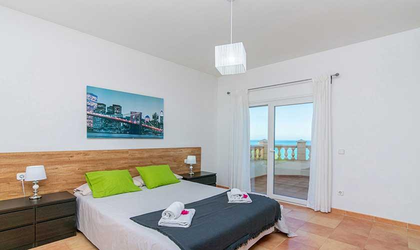 Schlafzimmer Ferienhaus Mallorca PM 430