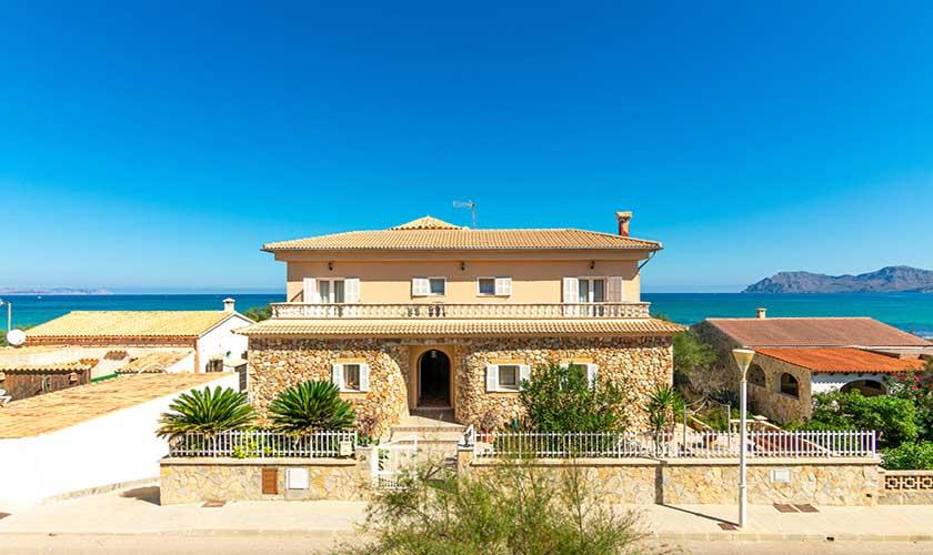 Meerblick und Ferienhaus Mallorca PM 430