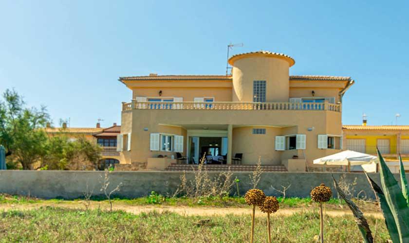 Blick auf das Ferienhaus Mallorca PM 430