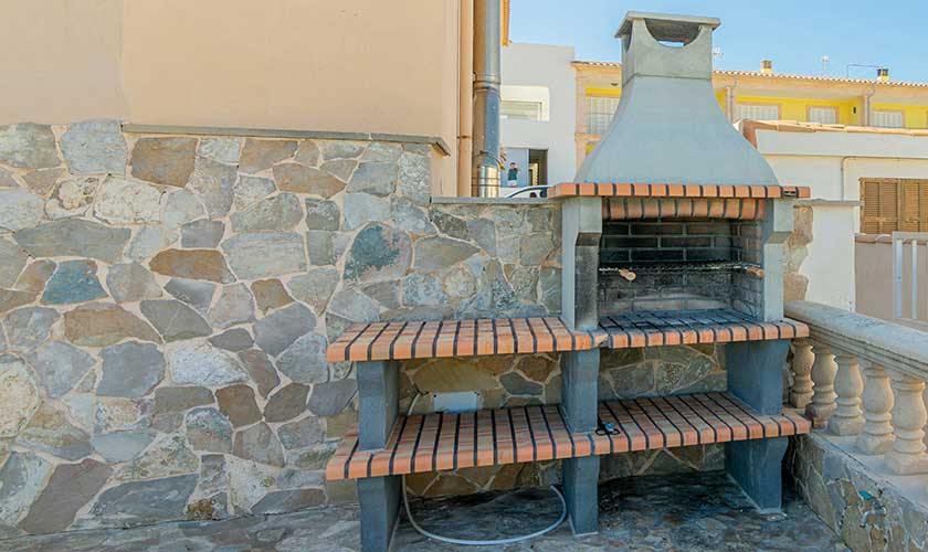 Grillplatz Ferienhaus Mallorca PM 430
