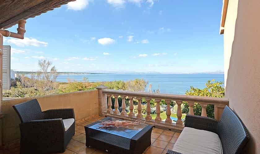 Terrasse oben Ferienhaus Mallorca PM 440