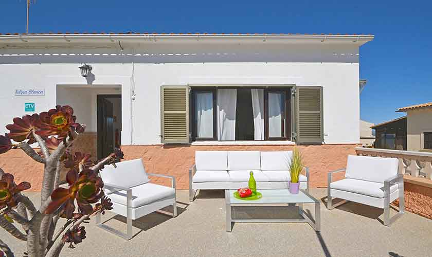 Terrasse Ferienhaus Mallorca PM 462