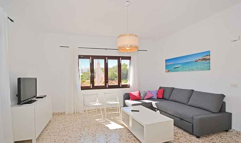 Wohnraum Ferienhaus Mallorca PM 462