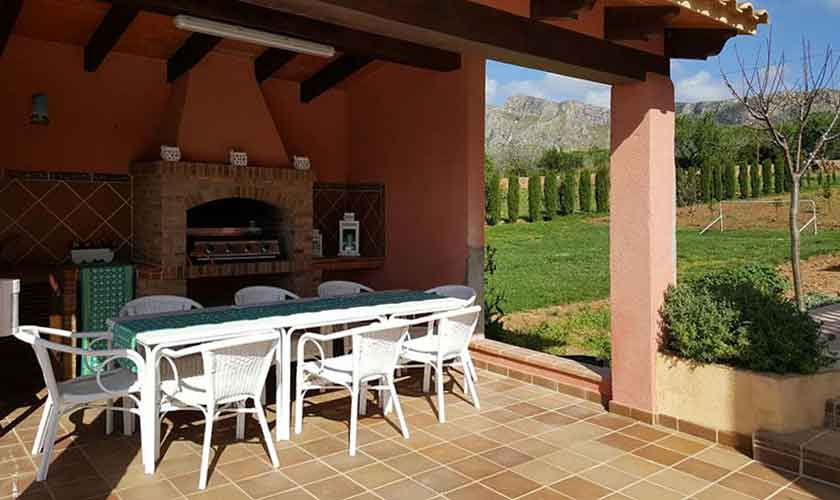 Terrasse Ferienvilla Mallorca PM 470