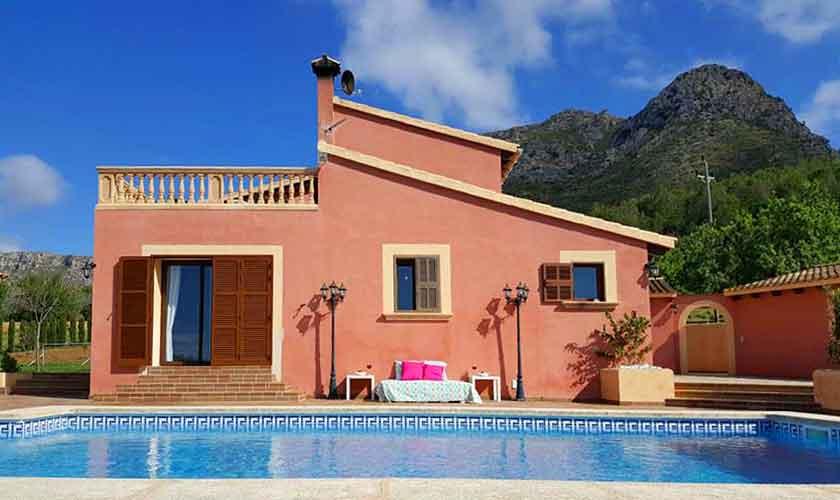Pool und Ferienvilla Mallorca PM 470