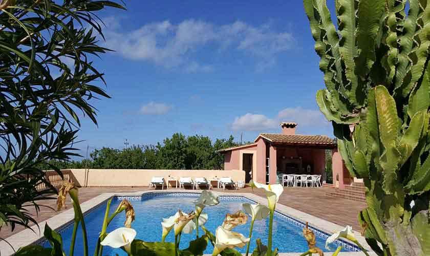 Poolblick Ferienvilla Mallorca PM 470
