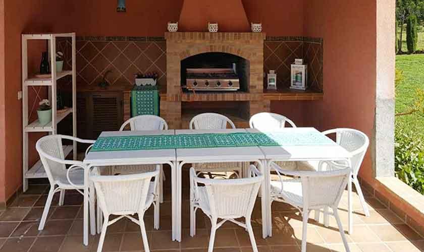Barbecue Ferienvilla Mallorca PM 470