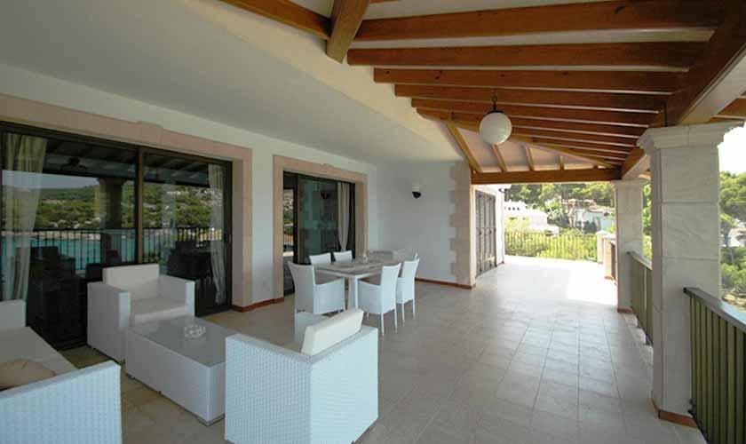 Terrasse Ferienvilla Mallorca PM 5140