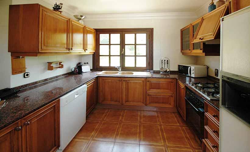 Küche Ferienvilla Mallorca Ostküste PM 5140