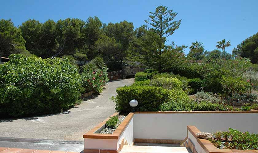 Einfahrt Ferienvilla Mallorca Ostküste PM 5140