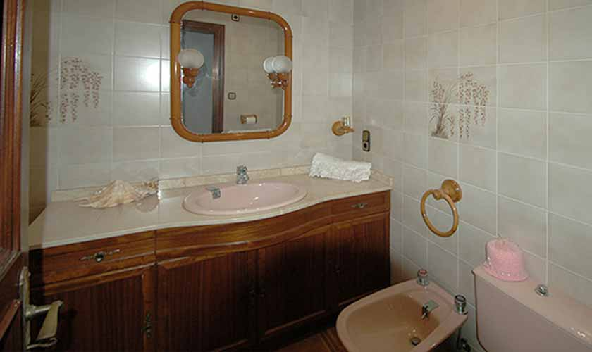 Badezimmer Ferienvilla Mallorca Ostküste PM 5140