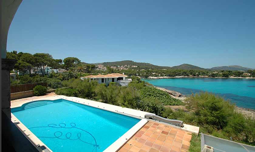 Pool und Meerblick Ferienvilla Mallorca PM 5140