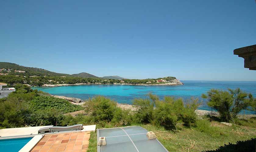 Pool und Meer Ferienvilla Mallorca Ostküste PM 5140