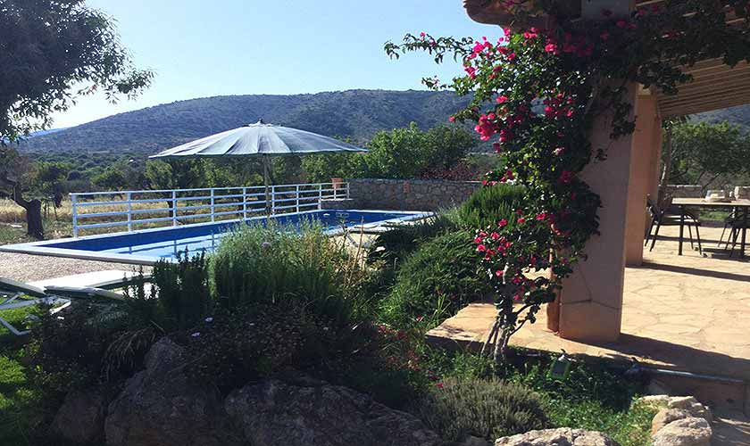 Terrasse Ferienfinca Mallorca 6 Personen PM 5204
