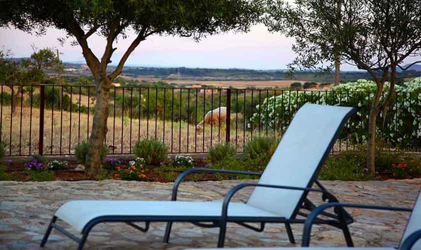 Terrasse Finca Mallorca Pool PM 5208