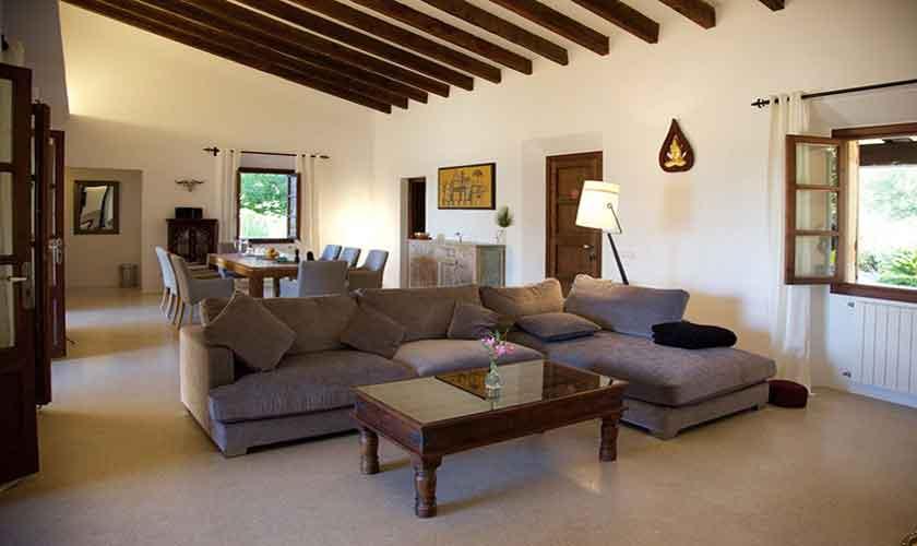 Wohnraum Finca Mallorca 8 Personen PM 5208