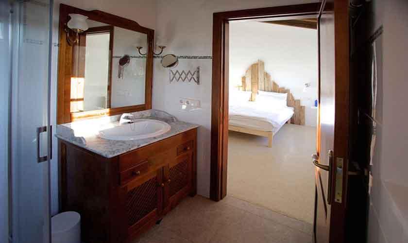 Badezimmer Finca Mallorca Pool PM 5208