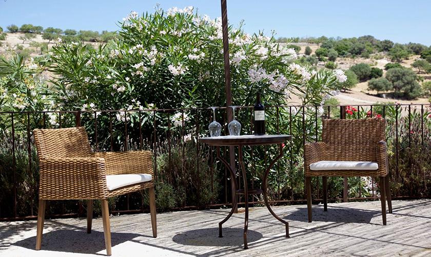 Terrasse Finca Mallorca 8 Personen PM 5208