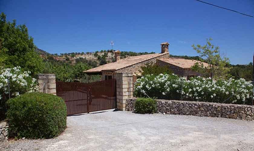 Blick auf die Finca Mallorca Pool PM 5208