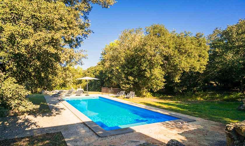 Poolblick Finca Mallorca Nordosten PM 5215