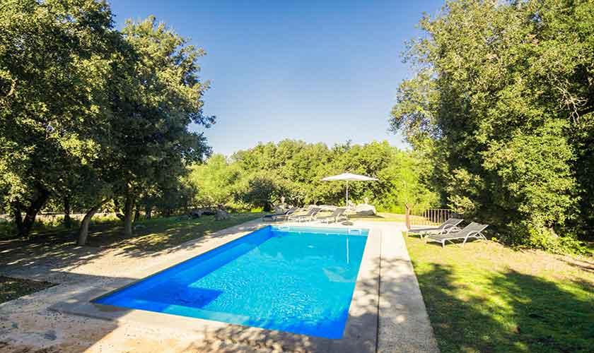 Pool und Finca Mallorca Nordosten PM 5215