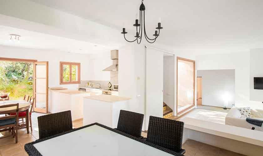 Küche Finca Mallorca Nordosten PM 5215