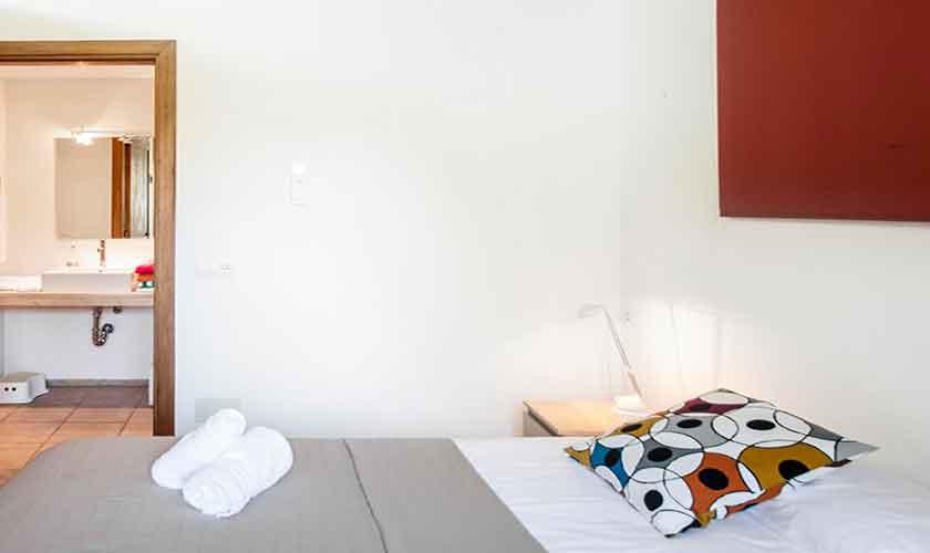 Schlafzimmer Finca Mallorca Nordosten PM 5215