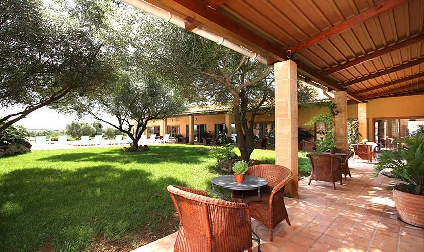 Terrasse und Finca Mallorca PM 522