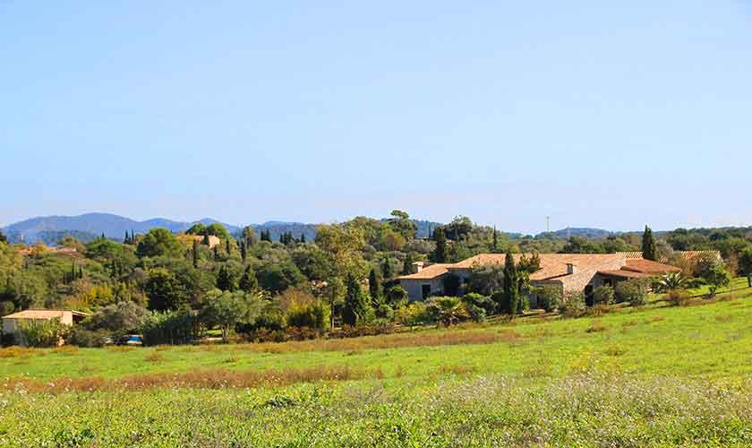 Blick Finca Mallorca Nordosten PM 5241