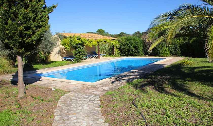 Pool und Finca Mallorca Nordosten PM 5241