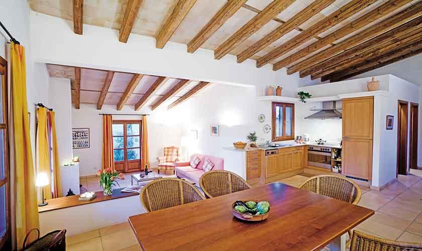 Wohnraum Finca Mallorca bei Arta PM 5241
