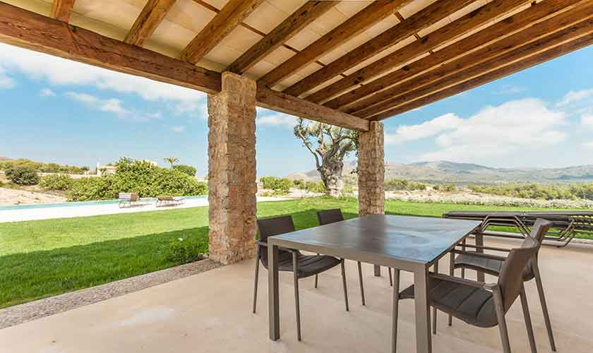 Terrasse Finca Mallorca Nordosten PM 5243