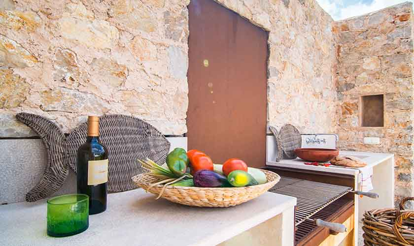 Barbecue Finca Mallorca Nordosten PM 5243