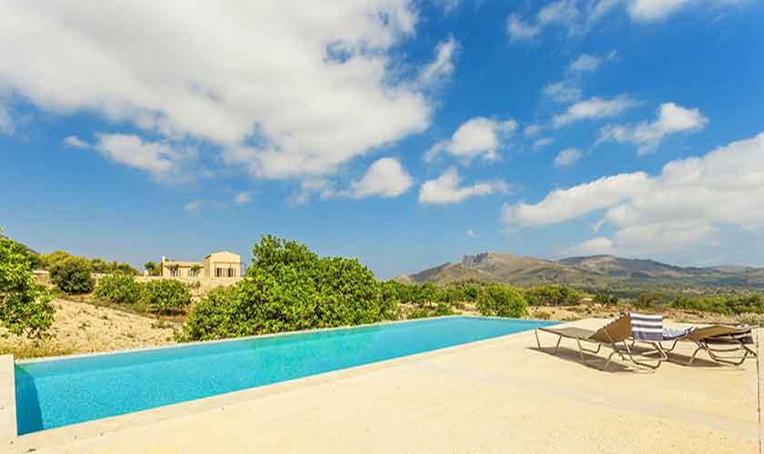 Poolblick Finca Mallorca Nordosten PM 5243