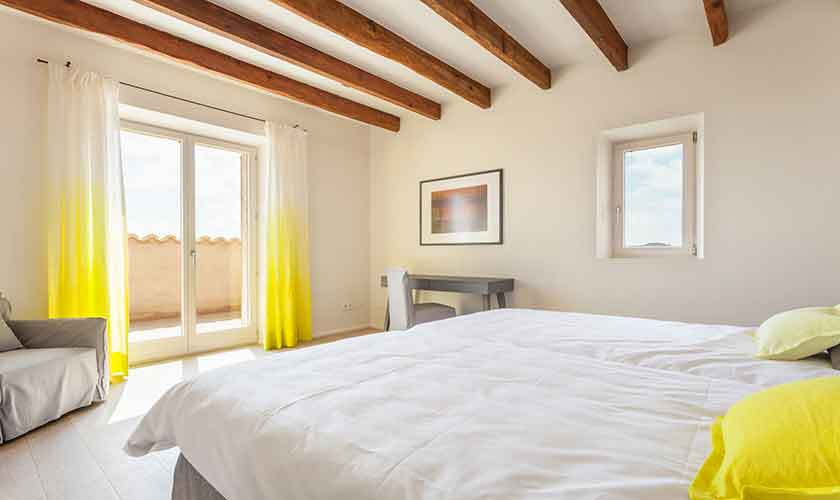 Schlafzimmer Finca Mallorca Nordosten PM 5243