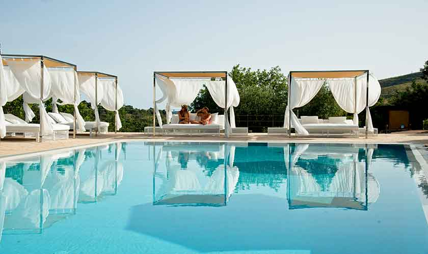 Pool mit Daybeds Son Barbassa PM 535