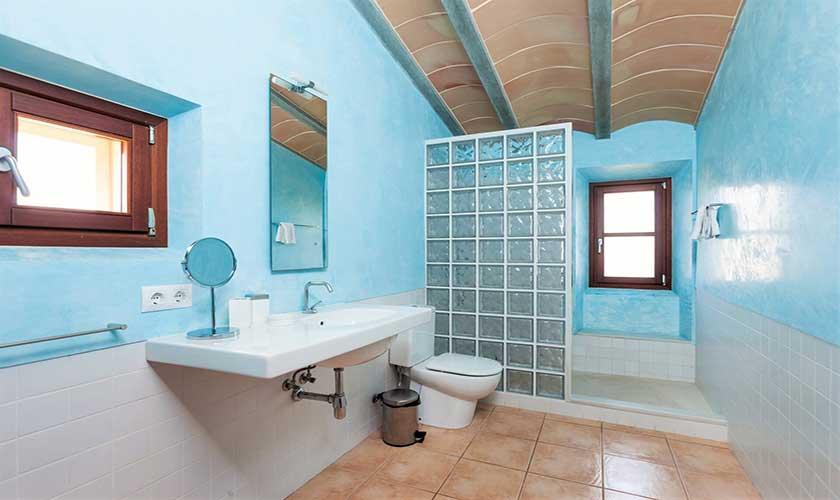 Badezimmer Finca Mallorca bei Arta PM 5350