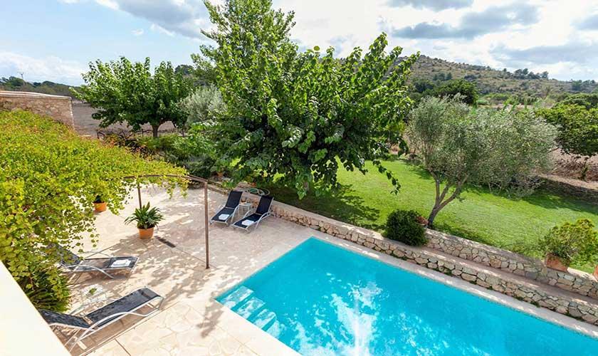 Pool und Finca Mallorca bei Arta PM 5350