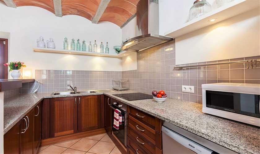 Küche Finca Mallorca bei Arta PM 5350