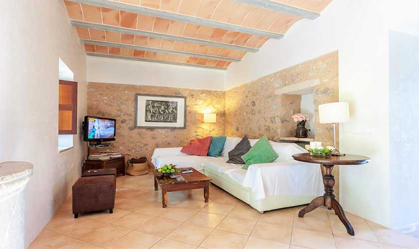 Wohnraum Finca Mallorca bei Arta PM 5350
