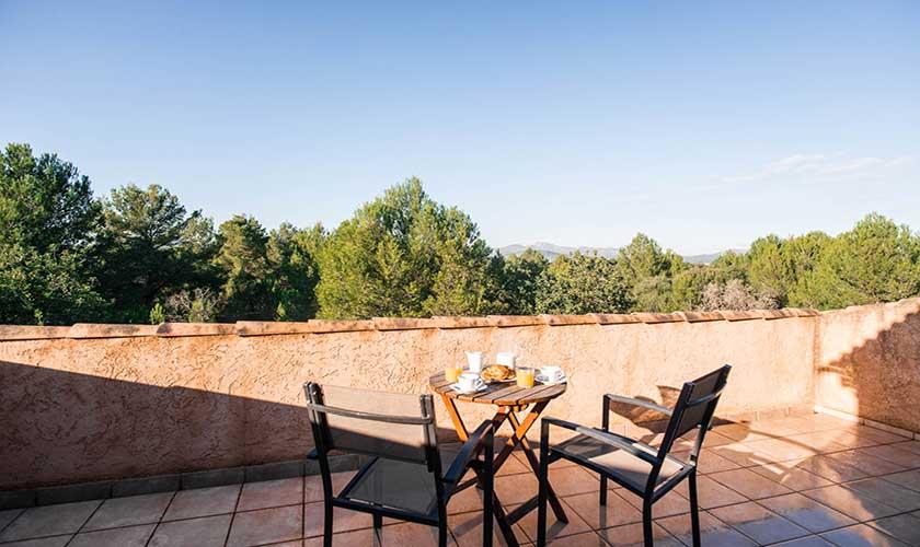 Terrasse oben Finca Mallorca bei Artá PM 5351