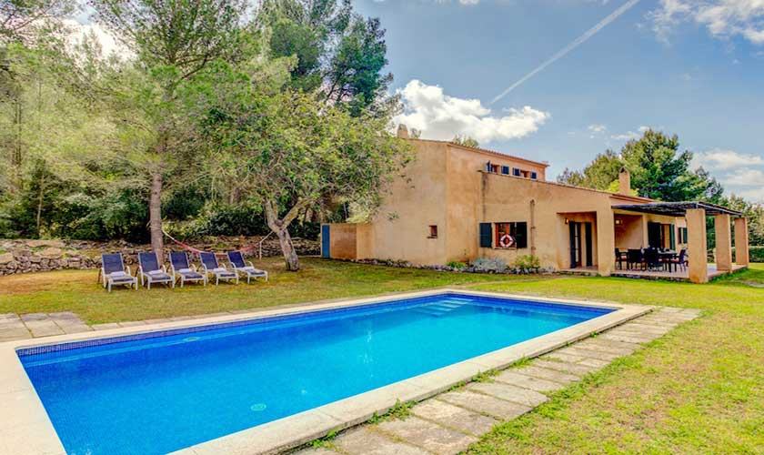 Pool und Finca Mallorca bei Artá PM 5351