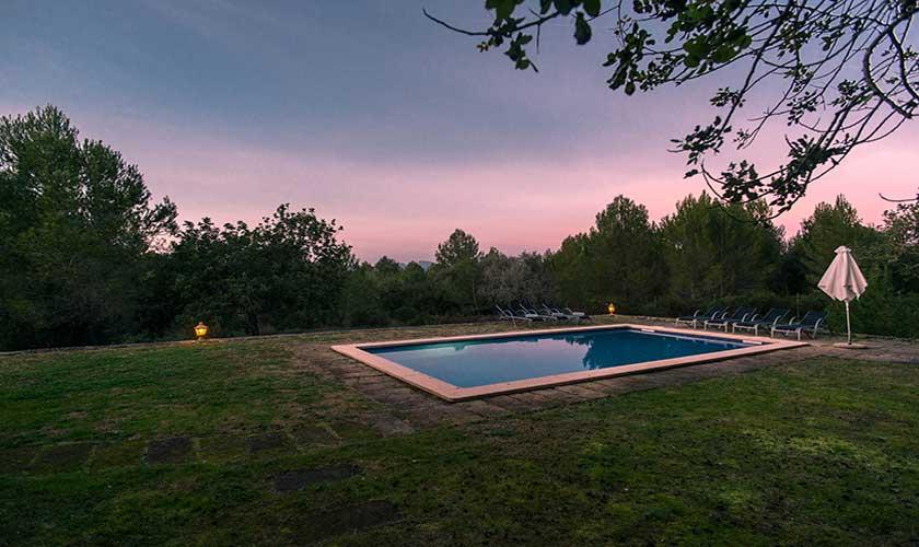 Abendstimmung Finca Mallorca bei Artá PM 5351