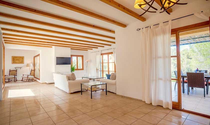 Wohnraum  Finca Mallorca bei Artá PM 5351